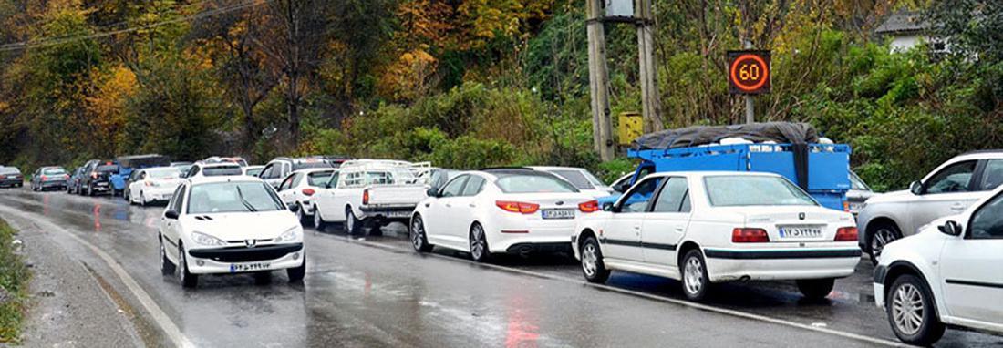 محدودیت ترافیکی در جاده های تهران &ndash شمال ، کندوان فردا یک طرفه می گردد