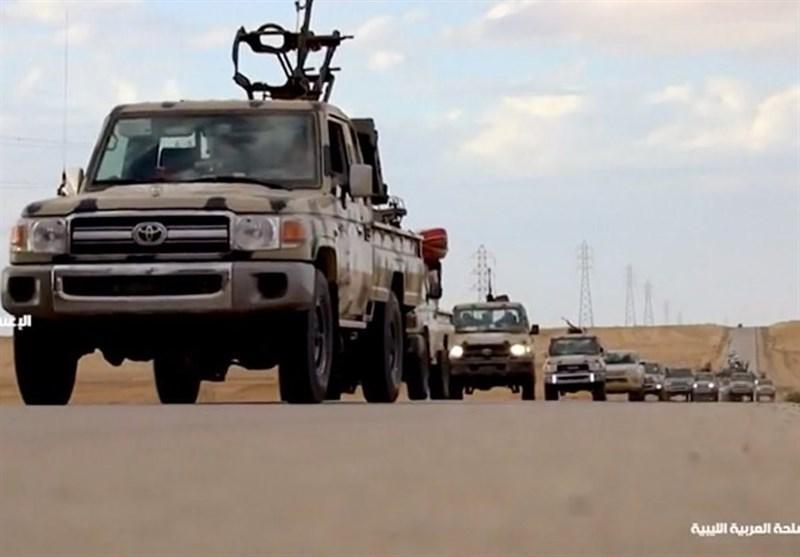 لیبی، درگیری شدید بین نیروهای حفتر و دولت الوفاق در غریان