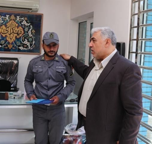 از سربازان یگان حفاظت میراث فرهنگی استان قم تقدیر شد