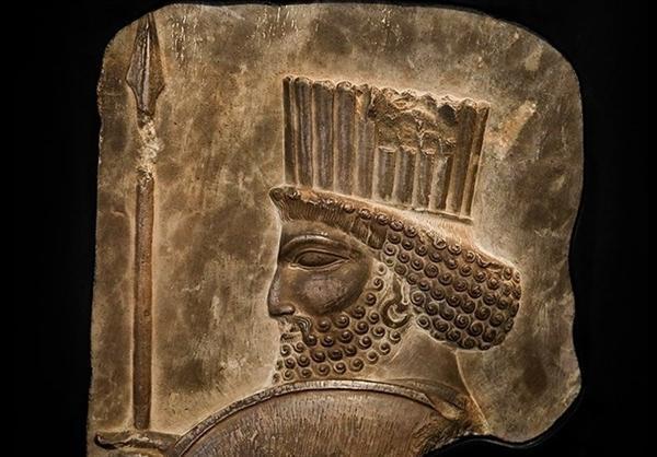 نقش برجسته سرباز هخامنشی در زاهدان رونمایی شد