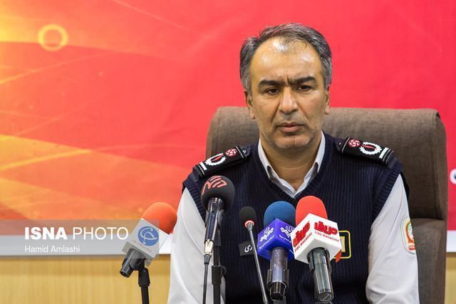 پهپادها به آتش نشانی تهران رسیدند