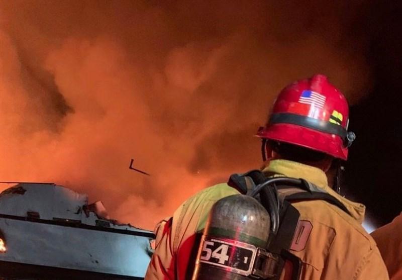 34 کشته در آتش سوزی در قایقی در کالیفرنیا