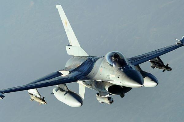 سقوط جنگنده اف-16 بلژیک در منطقه مسکونی فرانسه
