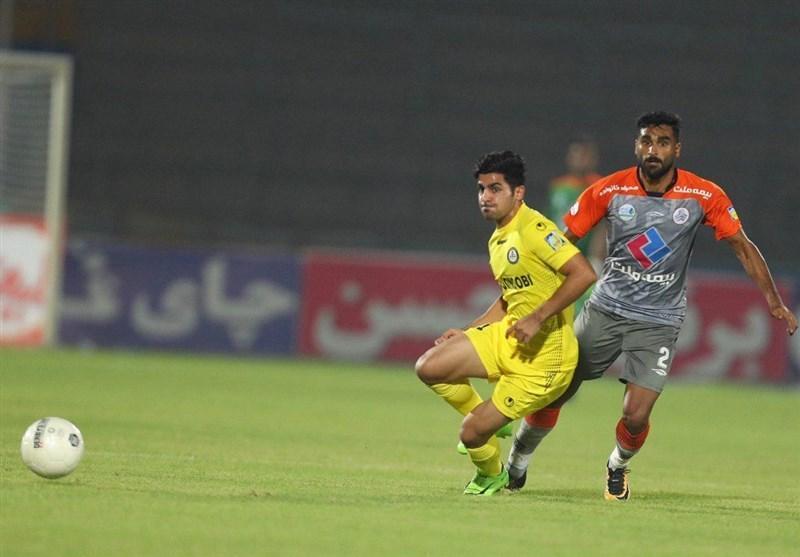 لیگ برتر فوتبال، توقف سپاهان و رجحان پارس جنوبی و پیکان در نیمه نخست
