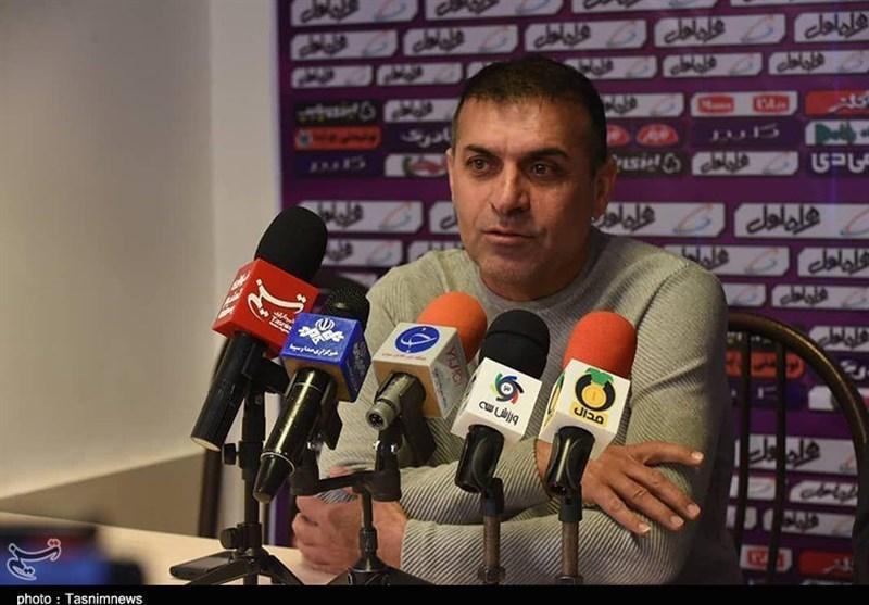 تبریز، ویسی: عده ای خرابکار و معلوم الحال برای ما مشکل ایجاد می نمایند، اگر سپاهان را می بردیم باید به کارمان شک می کردیم