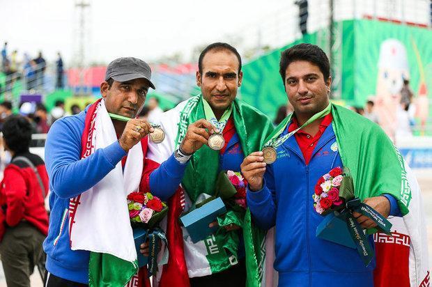 تیم ایران برای نخستین بار مدال طلای کامپوند را تصاحب کرد