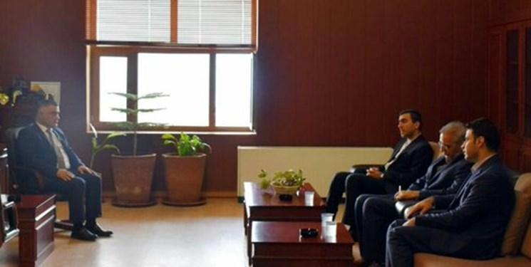 سرکنسول ایران با رئیس دادگستری سلیمانیه دیدار و گفت وگو کرد