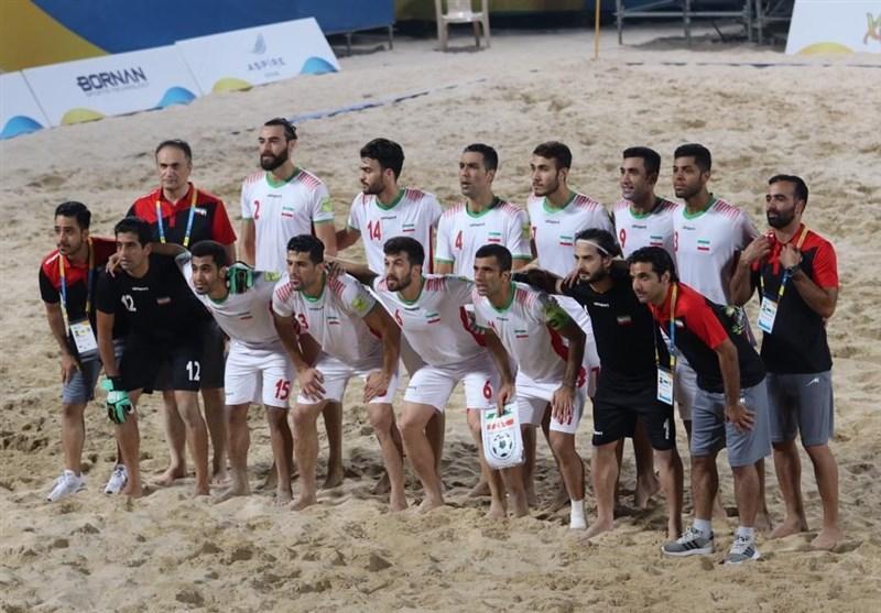 جام بین قاره ای فوتبال ساحلی، صعود ایران به نیمه نهایی با برتری برابر مصر