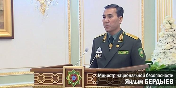 انتقاد بردی محمداف از وزیر امنیت ملی ترکمنستان