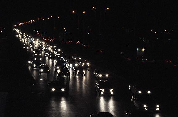 ترافیک روان در آزادراه کرج-تهران