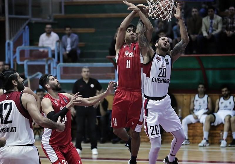 لیگ برتر بسکتبال، نیروی زمینی بر شهردای بندرعباس غلبه کرد