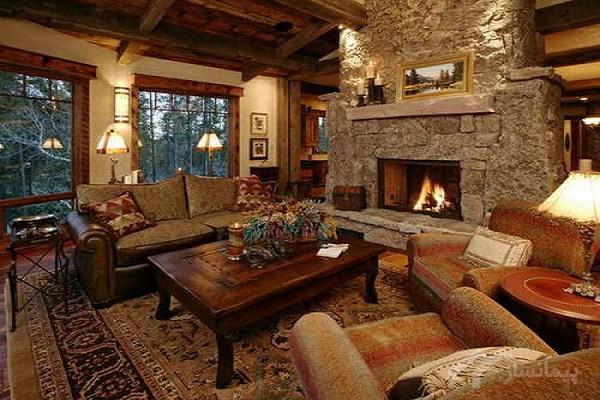 فضایی گرم و صمیمانه در دکوراسیون منزل در زمستان