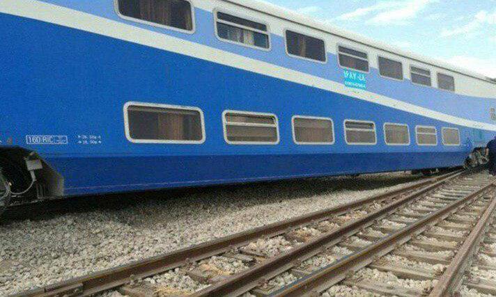 سانحه قطار تهران- قزوین کشته داد ، هوا مه آلود بود، قطار به پراید خورد