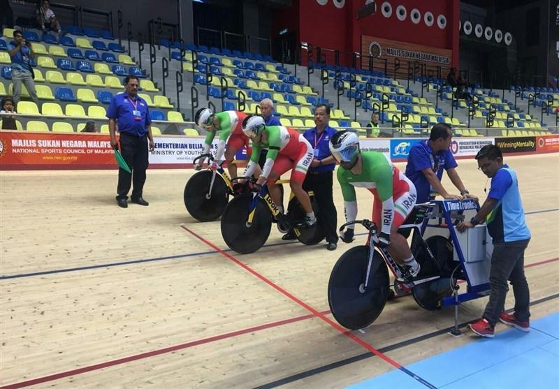 دوچرخه سواری پیست قهرمانی آسیا، قهرمانی رکابزن ایرانی در بخش معلولان و صعود دانشور به مرحله دوم
