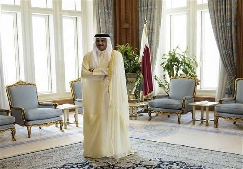 دعوت پادشاه سعودی از امیر قطر برای شرکت در نشست ریاض