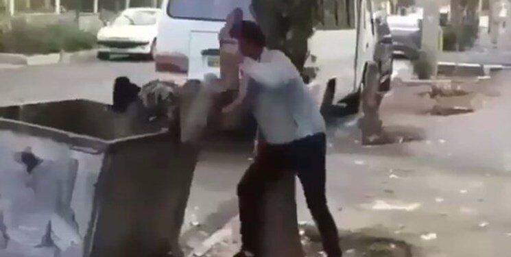 کودکی که در سطل زباله انداخته شد پیدا شد ، مشخصات کودک