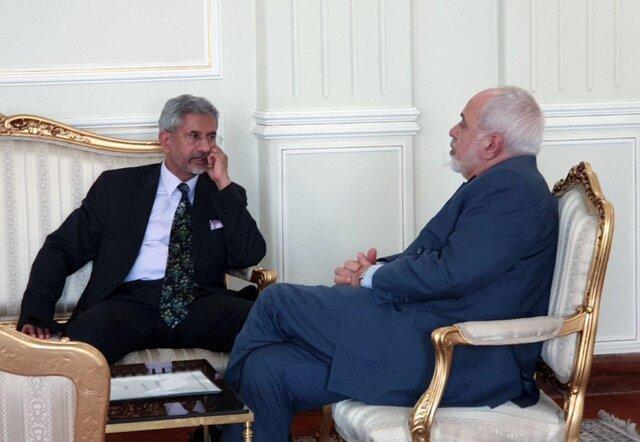 ملاقات وزیر خارجه هند با ظریف