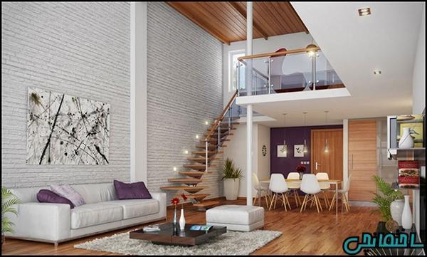 ایده های طراحی دیوار آجری و سنگی