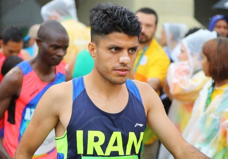 حضور محمدجعفر مرادی در دوی ماراتن قهرمانی آسیا