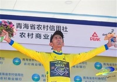 علیزاده، بهترین دوچرخه سوار آسیایی تور کینگ های لیک