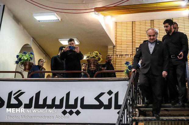 بازدید وزیر ورزش و رئیس کمیته ملی المپیک از خانه کشتی