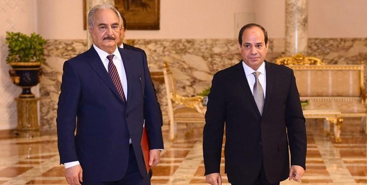 میدل ایست آی: مصر در فکر قطع حمایت از حفتر است
