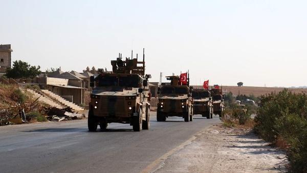 درگیری نظامیان ترکیه و سوریه در ادلب
