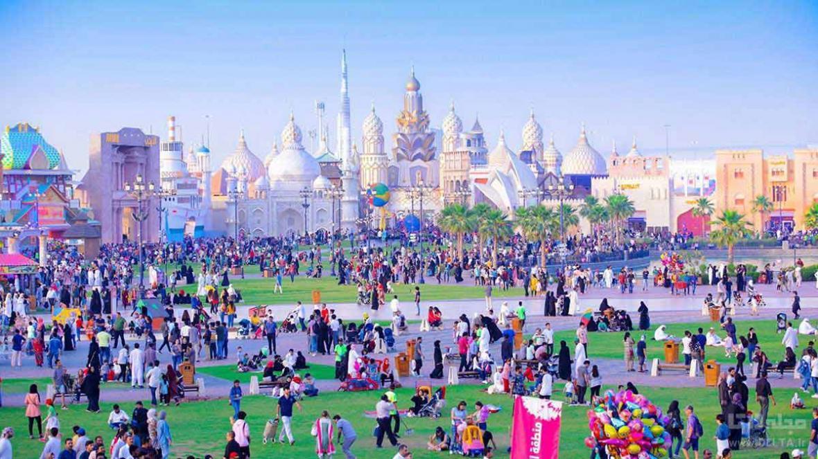 دهکده دنیای دبی ؛ دور دنیا در یک روز