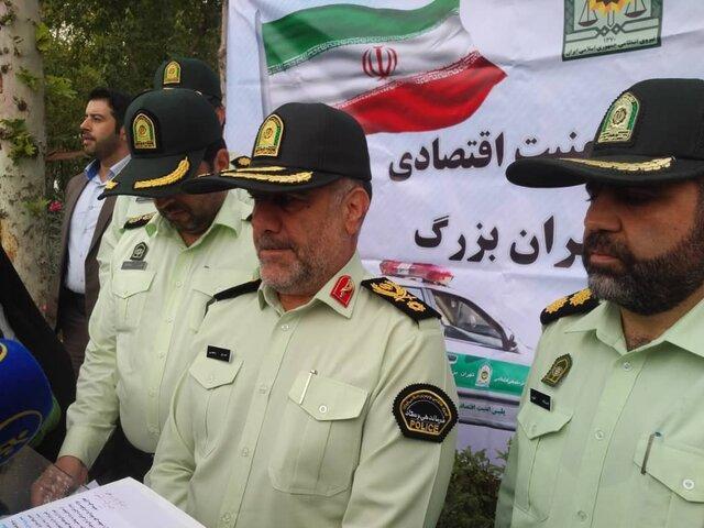 کشف 46 میلیون دستکش از چهار انبار درجنوب تهران