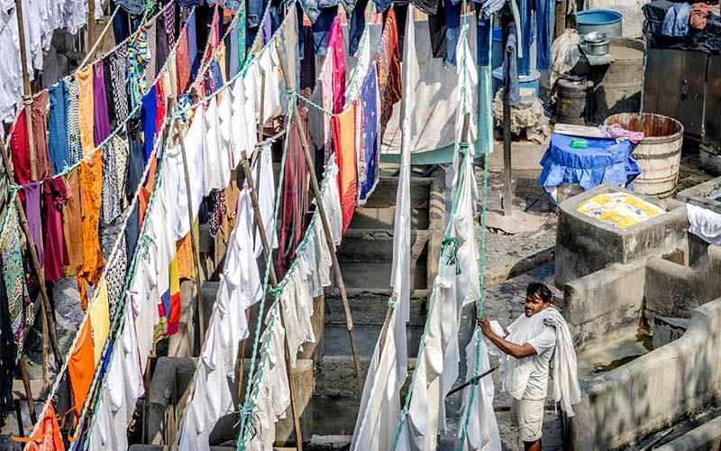دوبی گات؛ رخت شوی خانه 140 ساله بمبئی