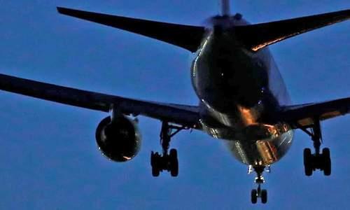 فرود اضطراری هواپیمای بوئینگ 767 در مادرید