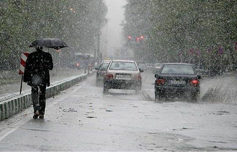 خبرنگاران تداوم بارندگی در کرمانشاه و کاهش هفت درجه ای دمای هوا