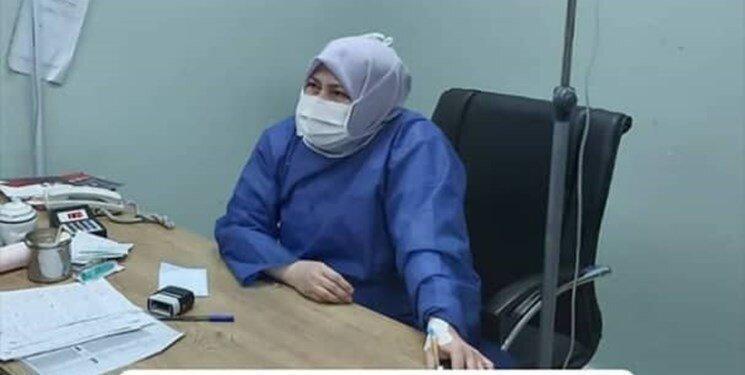 آخرین عکس ، پزشکی که تا آخرین لحظه عمرش را وقف مردم کرد