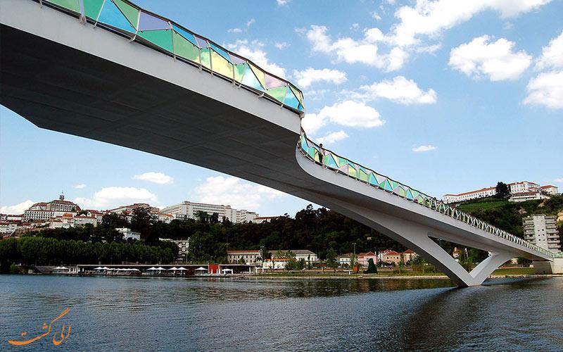 بهترین پل های عابر پیاده دنیا همانند پل طبیعت تهران!