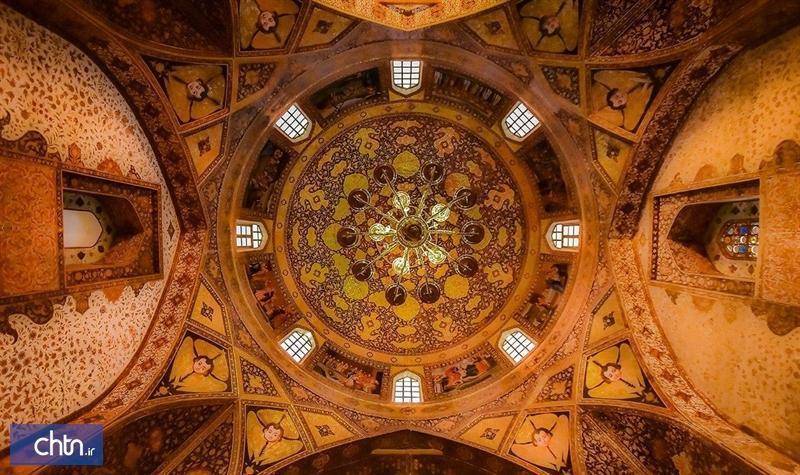 کلیسای بیت لحم تلفیقی زیبا از هنرهای معماری و نقاشی دیواری مکتب اصفهان