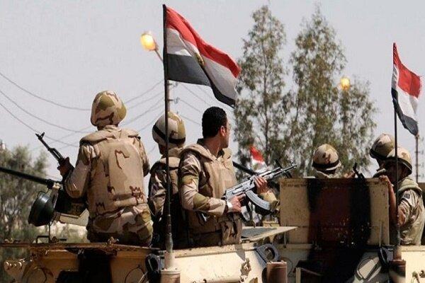هلاکت 19 عنصر مسلح در عملیات ارتش مصر در صحرای سیناء