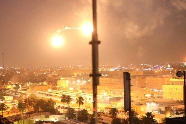 حمله راکتی به محوطه مجاور سفارت آمریکا در منطقه سبز بغداد