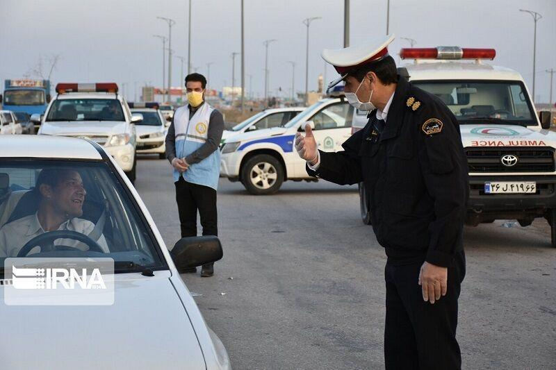 خبرنگاران افزایش 15 درصدی برخورد پلیس با تخلفات رانندگی در ایلام