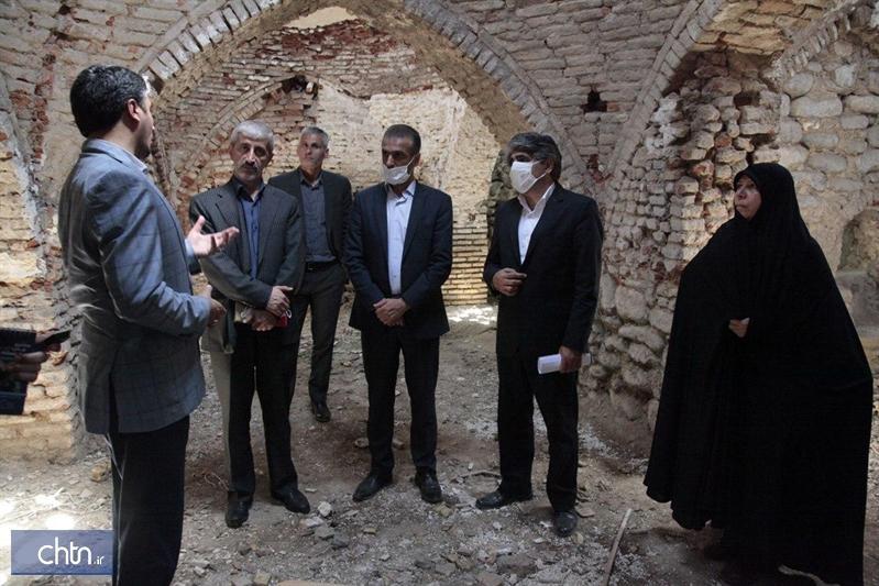 بازدید مدیرعامل صندوق توسعه از بناهای تاریخی شرق گلستان