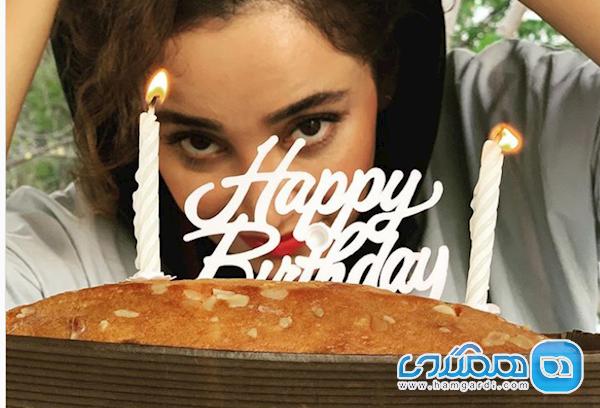 جشن تولد بهاره افشاری در غار تنهایی اش
