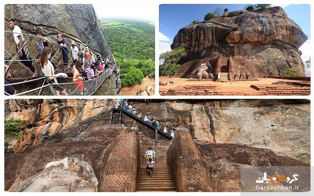 قلعه سیگیریا قلعه ای دیدنی در میان جنگل های سریلانکا، عکس