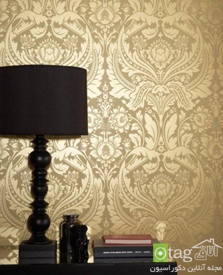 مدل های جدید کاغذ دیواری منزل با طرح های مدرن و کلاسیک