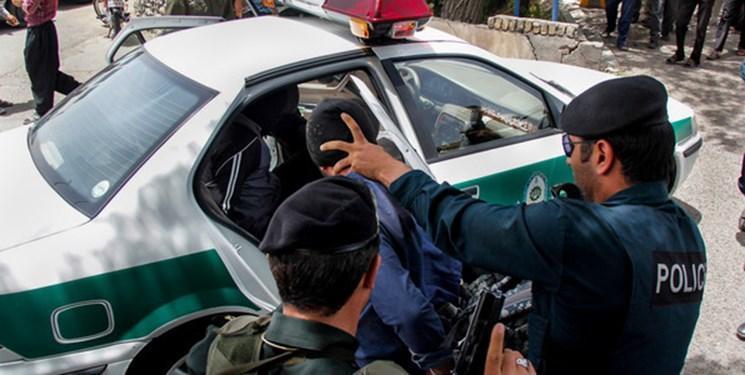 تیراندازی پلیس در میدان فتح