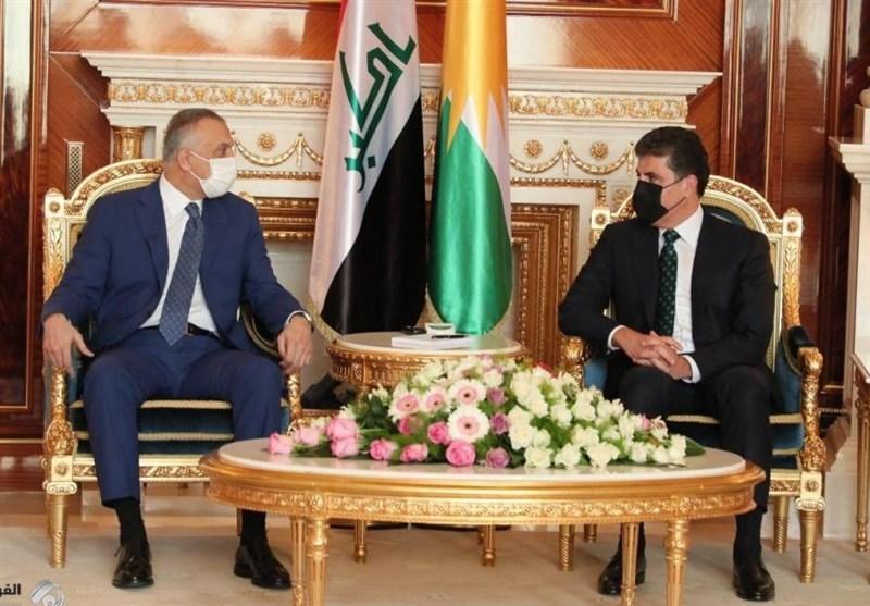 عراق، ملاقات الکاظمی و بارزانی در اربیل