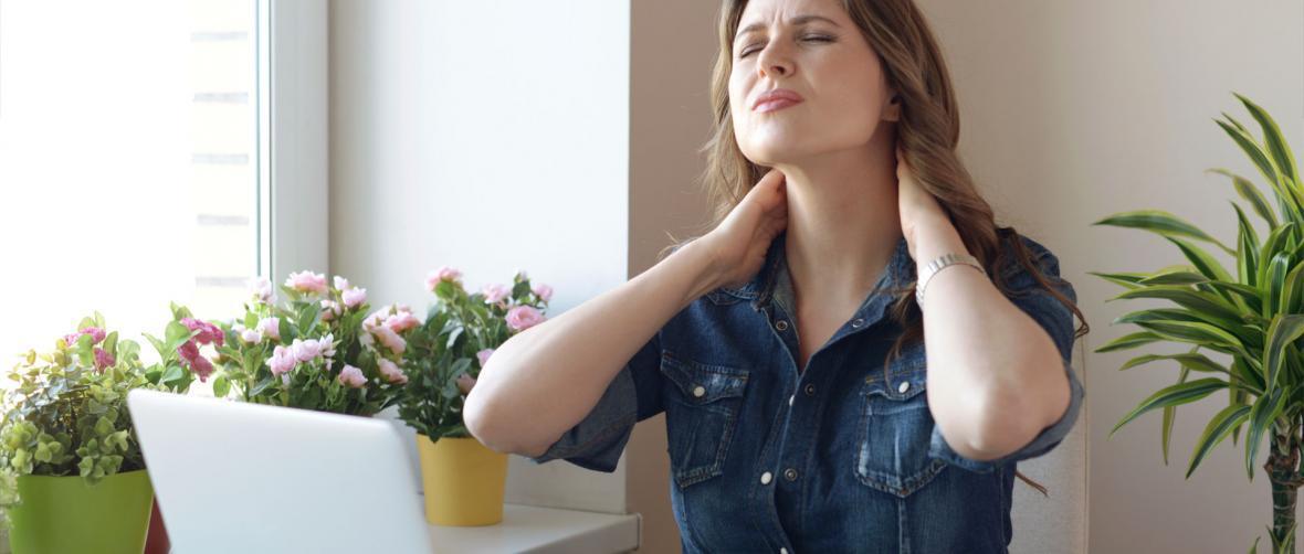ورزش های کششی برای برطرف درد گردن و شانه