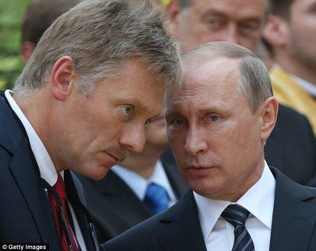 سخنگوی پوتین: روسیه منتظر نتایج رسمی انتخابات آمریکاست