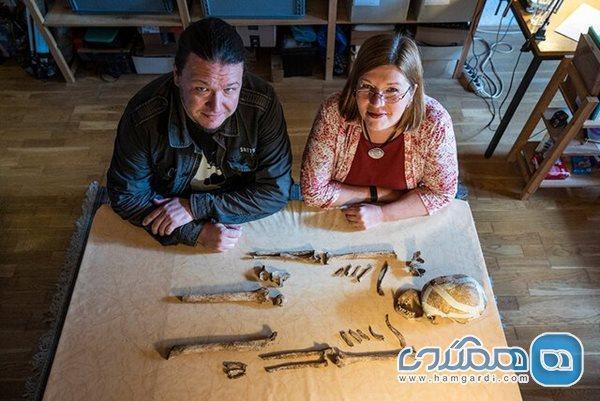اعلام کشف اسکلت یک زن ماقبل تاریخ در آلمان