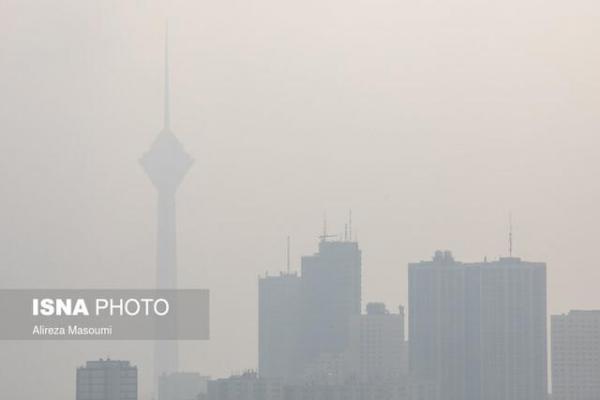 37 روز تنفس هوای آلوده در تهران طی پاییز