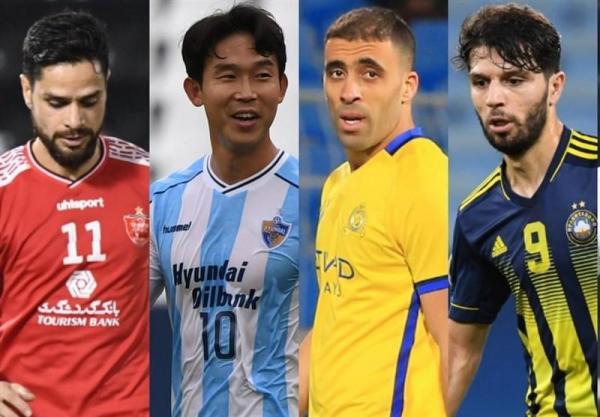 کامیابی نیا؛ بهترین پاسور لیگ قهرمانان آسیا در یک سوم پایانی زمین