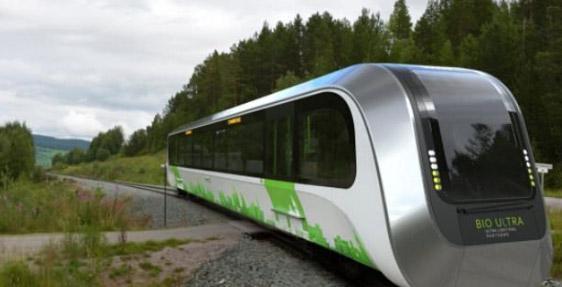 حرکت قطار های آینده با گازبیومتان